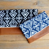 boho wedding clutches