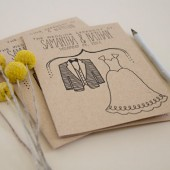 Kraft Wedding Program