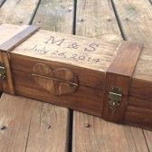 Lockable Wine Box