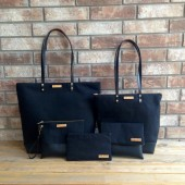 Black Honeymoon Bag Set