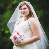 "Drop Wedding Veil 70"" Long Illusion Tulle"