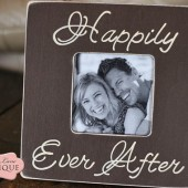 Happily Ever After Picture Frame
