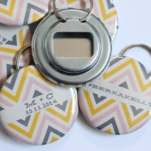 Chevron Bottle Openers
