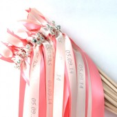 Personalized Send Off Wedding Wands