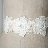 Flower Lace Sash