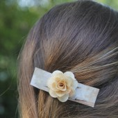 Birch Bark Hair Barrette