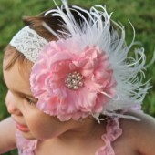 Flower Girl Hair Flower