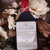 Wine Bottle Invitation