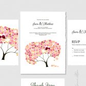 Wedding Suite Package DIY Printable Invite Kit - Bar Bat Bnai Mitzvah Invitation, Save the Date, Wedding Invitations, Thank You Cards