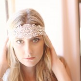 Rhinestone and Pearl Boho Headpiece