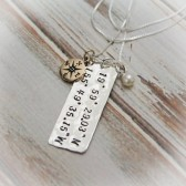 Longitude & Latitude Necklace