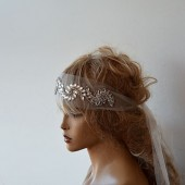 Bridal Headband, wedding Rhinestone Headband