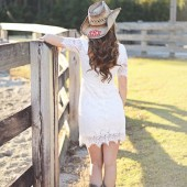 Monogrammed Cowgirl Hat