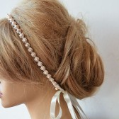 Wedding Pearl headband