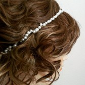 Pearl Hairband, Bridal Pearl Headpiece, Bridal Pearl Hair Accessories, Ivory Wedding Headband
