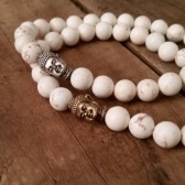 Mens Magnesite Bracelet w Buddha 2015 Trend Mens Fashion Grooming Jewelry