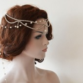 Bridal Headband, Wedding Headpiece