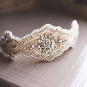 The Charlotte Bridal Hair Piece
