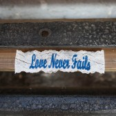 Love Never Fails Garter