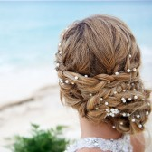Wedding Pearl Head Chain