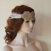 Rhinestone Headband, wedding Headband