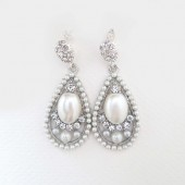 Drop Bridal Earrings