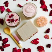 Rose Bath & Body Gift Set