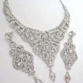 brides jewelry set