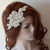 Lace Wedding Headband