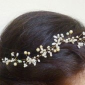 Bridal tiara, Wedding tiara, Boho bride, Hair Vine, Flower Halo, Rustic wedding