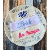 Personalize Wedding Garter