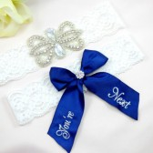 Rhinestone Wedding Garter