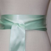 Mint Ribbon Sash