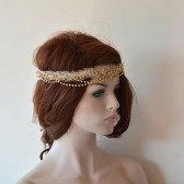 Bohemian Bridal Hair Piece