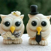 Owl cake topper, winter wedding, wedding cake topper,Owl wedding cake topper, love birds, custom cake topper, wedding cake topper, owl cake topper, love bird cake topper, personalized wedding, cute cake topper, hand made cake topper