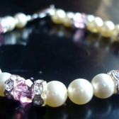Swarovski Pearls & Crystal Bracelet - Customize Your Colors