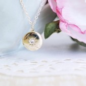 Birthstone Crystal Charm Locket