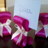 Ribbon Place Card Holder
