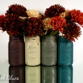 Country Harvest Mason Jars