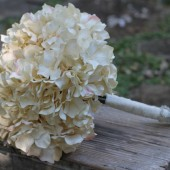 Wedding Bouquet Hydrangea Rustic Shabby Chic Wedding