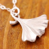 Ginko Leaf Necklace
