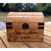 Personalized Large Wooden Card Box