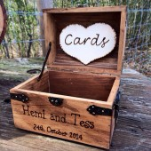 Personalized Small Wedding Chest