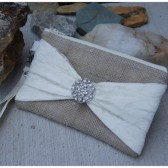 Brooch Bow Wristlet