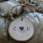 Ornament Rustic Personalized