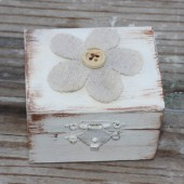 Wedding Ring Pillow Box