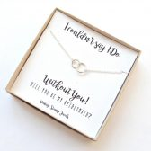 A beautiful way to do your bridesmaid proposal!
