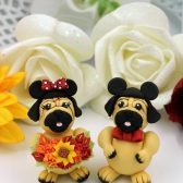 dog cake topper, custom cake topper, pug cake topper, wedding cake topper, hand made cake topper, custom cake topper