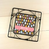 Personalized Trivet - Leafy Brown