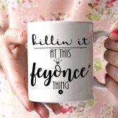 engaged mug, new bride gift, feyonce, mug for bride